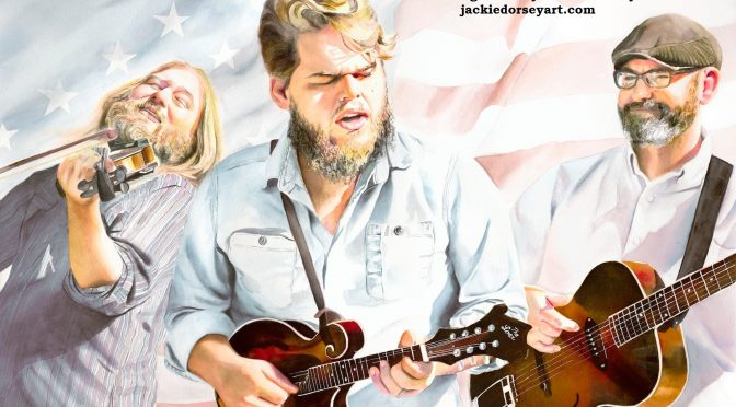 Artist Jackie Dorsey Paints GSB in Athens Music Tribute