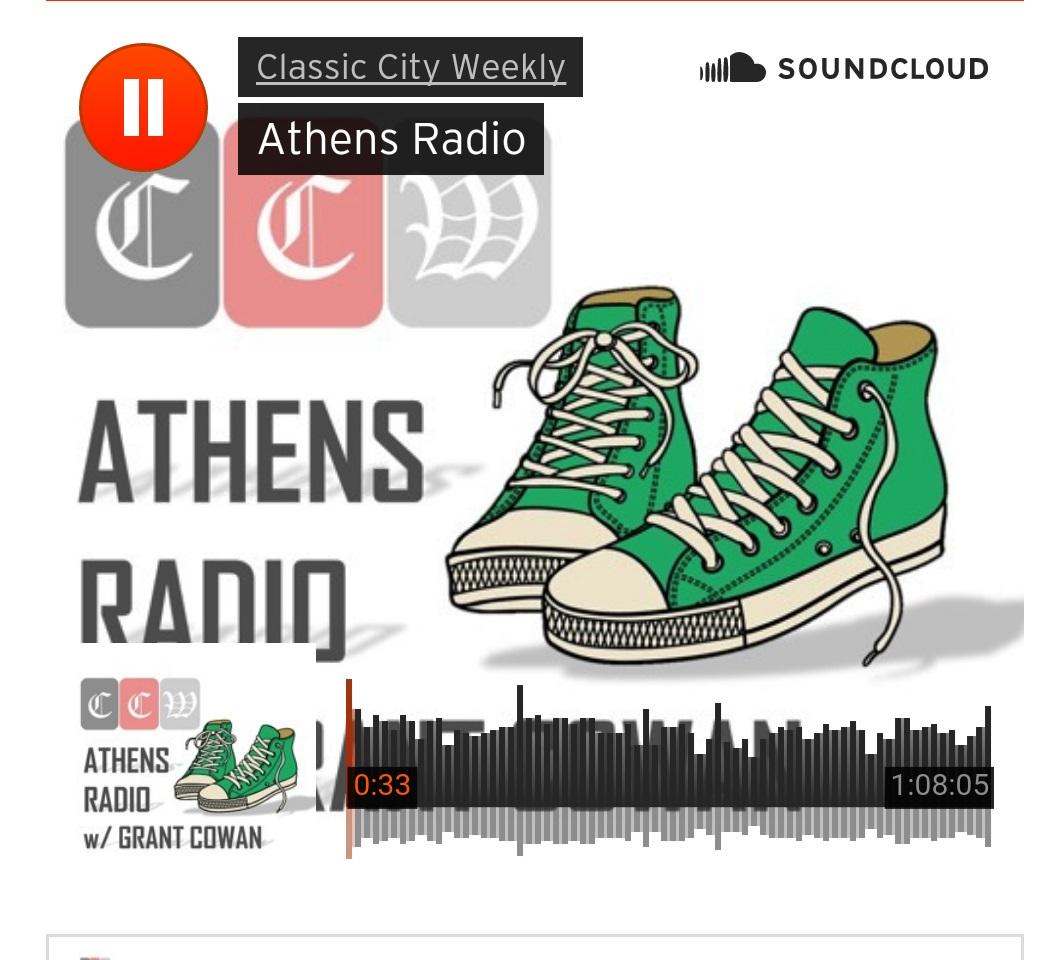 Athens Radio Grant Cowan