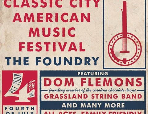GSB to Perform at 7th Classic City American Music Festival:  Dom Flemons to Headline!